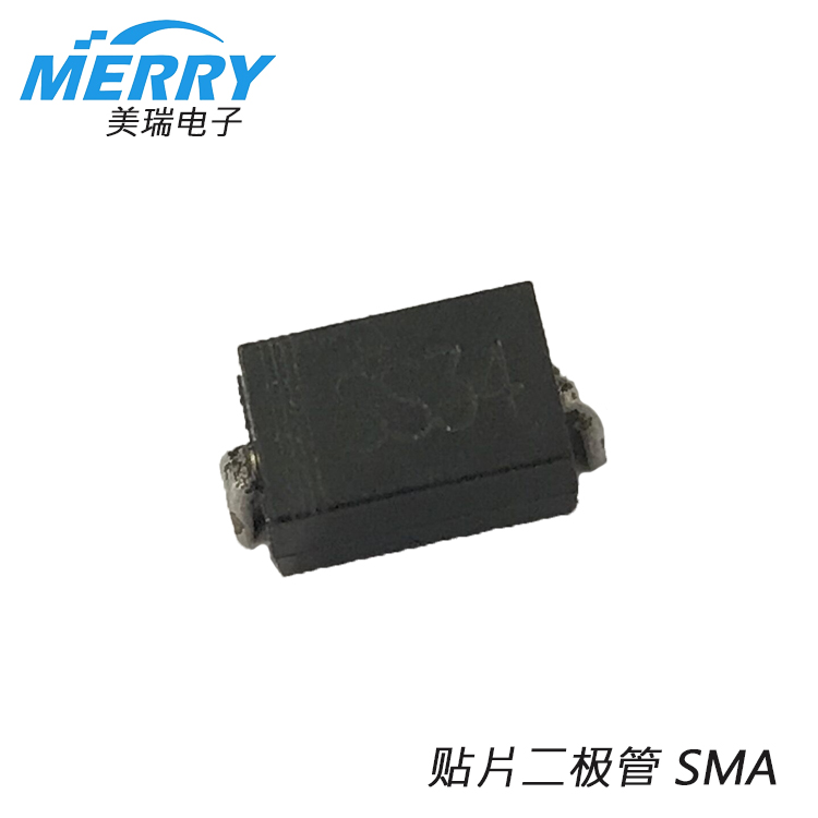 SS14 1A 40V SMA package Schottky diode