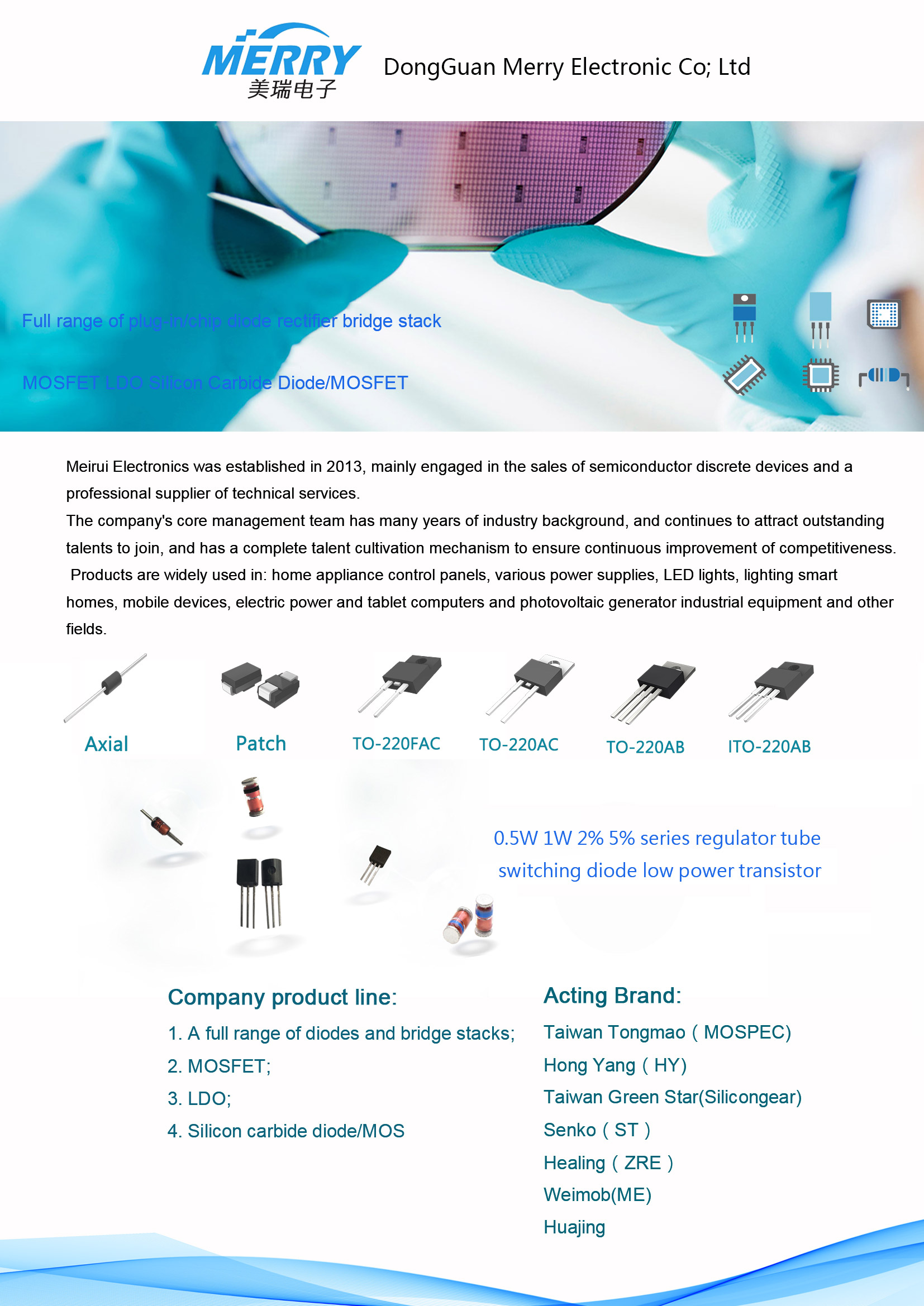 Schottky diode supplier
